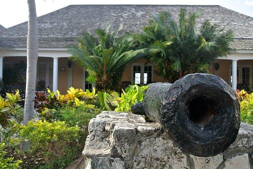 Jamaica, Rose Hall, Caribbean, Canon