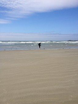 Ocean, Beach, Sky, Waves, Sea, Sand, Travel, Vacation