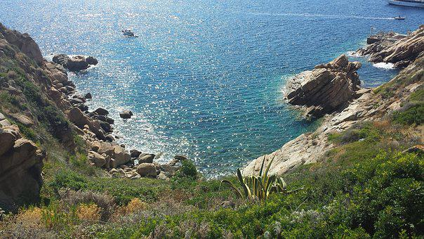 Island Lily, Tuscany, Summer, Sea, Sun, Colors, Quiet