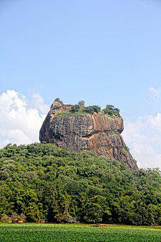 Lion Rock, Sri Lanka, Holiday, Tourists, Nature, Sky