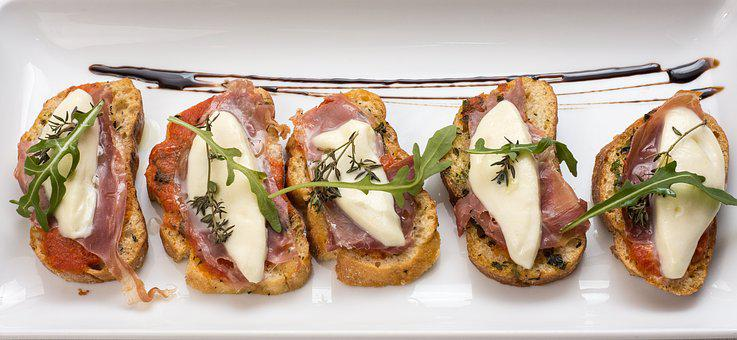 Bruschetta, Starters, Food, Cheese, Appetizer, Gourmet