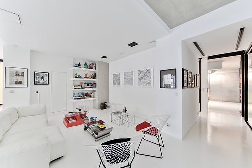 Stay, Scandinavian Style, White Room, Scandinavian Sofa