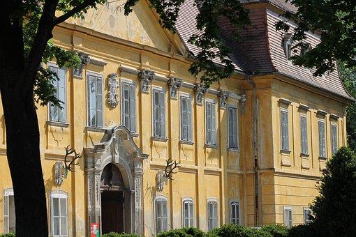 Castle Marchegg, Stork City, Marchegg, Castle, Baroque