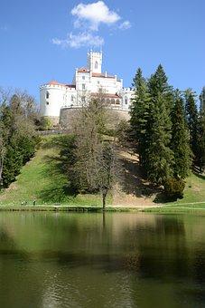 Castle, Trakoscan, Croatia, Century, 13th, Touristic