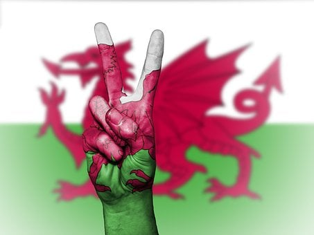Wales, Uk, Gb, Britain, Welsh, Peace, Hand, Nation
