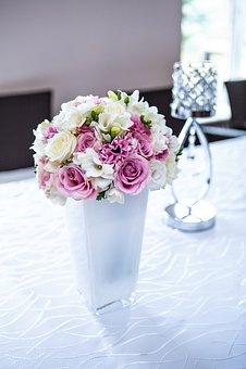 Flowers, Vaze, Replacement Lamp, Ornaments, Decoration