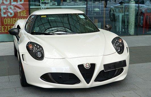 Alfa Romeo, Sports Car, Flitzer, Stylish, Vehicle