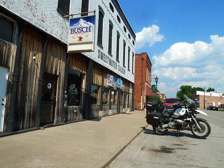 Golconda, Illinois, Motorcycles, Bar