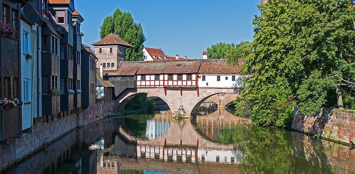 Nuremberg, Hangman Bridge, Bridge, Historically