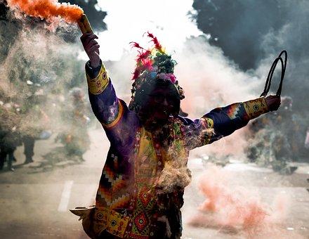 Smoke, Colors, Carnival, Fire, Party, Celebration