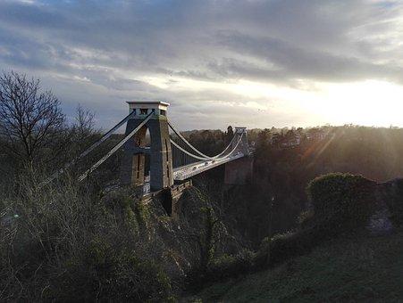 Clifton Suspension Bridge, Bristol, Bridge, Clifton