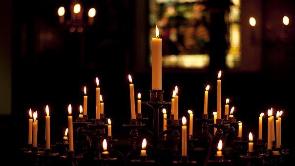 Candles, Church, Religion, Light, Religious, Fire