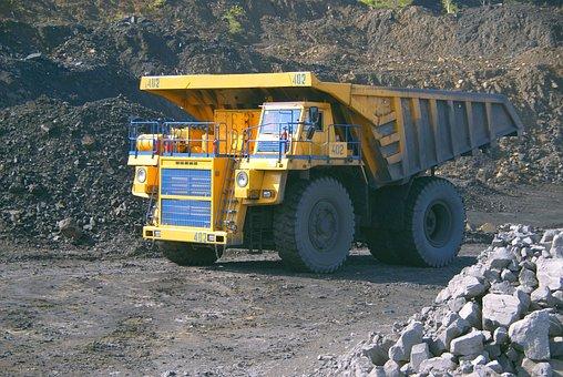 Dumper, Coal Mining, Coal, Gigantic Proportions, Belaz