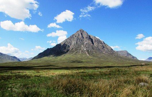 Scotland, Scottish Mountain, Glencoe, Scenic, Landscape