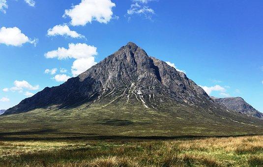 Scotland, Scottish, Mountain, Glencoe, Highland, Scenic