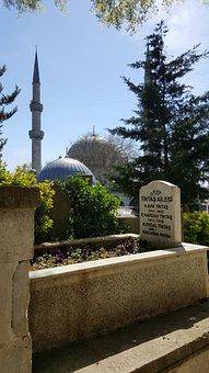 Istanbul, Graveyard, Steps, Turkey, Ottoman, Islam