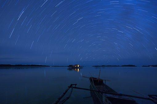 Landscape, Indonesia, Halmahera, Widi Islands, Lagoon