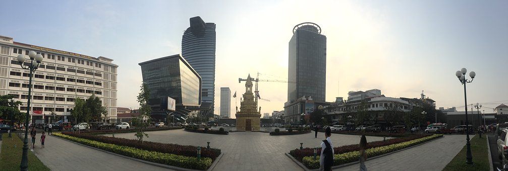 Panorama, Cambodia, Phnom Penh City, Meng Hann