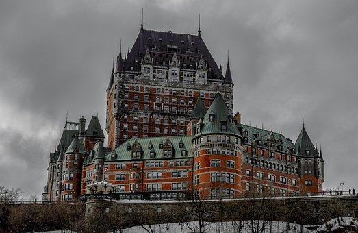 Québec, Castle, Frontenac, Building, Canada, Quebec