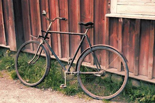 Old, Bicycle, Bike, Vintage, Retro, Transport, Cycle