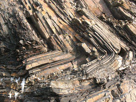 Geology, Rocks, Folds, Geological, Texture, Stone