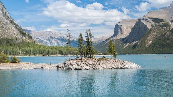 Landscape, Canada, Rocky Mountains, Alberta, Banff
