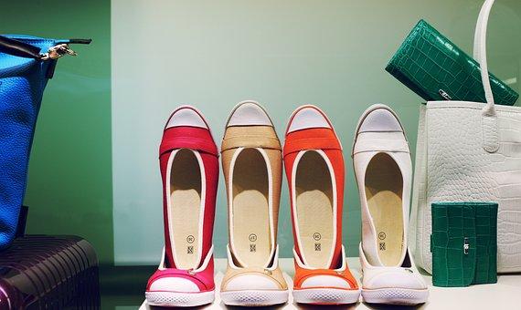 Window, Shoes, Shop, Sneaker, Decoration, Colorful