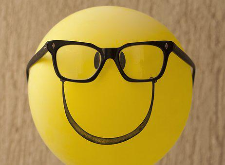 Nerdy, Geeky, Geek, Nerd, Balloon, Smiley, Silly