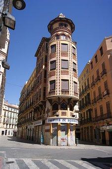 Malaga, Street, Empty