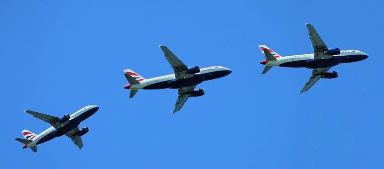 British Airways, Plane, British, Transport, Travel
