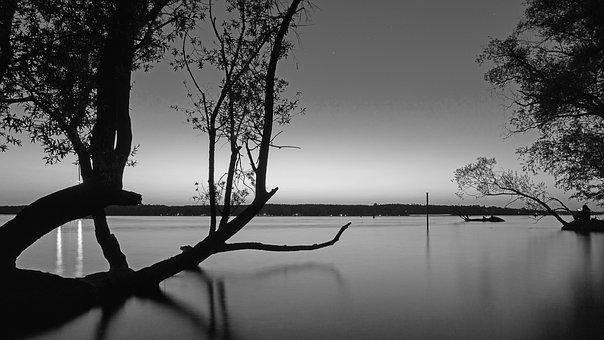 Long Exposure, Berlin Lake Van, Lake Van, Night
