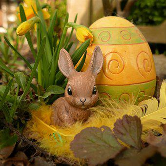 Easter, Happy Easter, Easter Bunny, Bunny, Figure