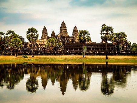 Cambodia, Ruin, Temple, Asia, Monument, Architecture