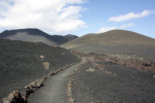 Volcanic Landscape, Landscape, La Palma, Canary Islands