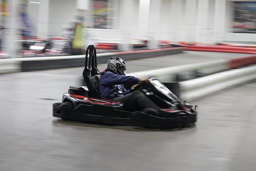 Carting, Race, Competition, Track, Drive, Leisure