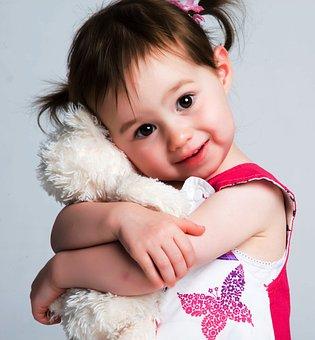 Child, Girl, Cuddle, Cuddling, Hugging, Hug, Cute