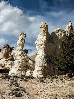 Wyoming, Desert, Rocky, Landscape, West, Sandstone
