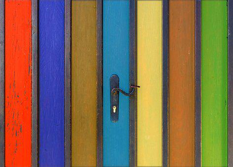 Texture, Pattern, Background, Door, Goal, Colorful