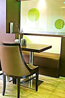 Digital, Graphics, Cafe, Chair, Equipment, Privacy