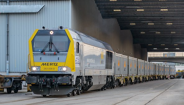 Locomotive, Freight Train, Wagons, Train, Railway