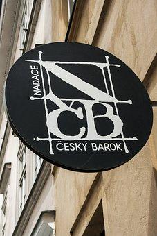 Prague, Gallery, Art, Exhibition, Door Sign