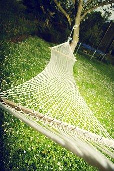 Hammock, Garden, Relax, Leisure, Resting Place, Swing