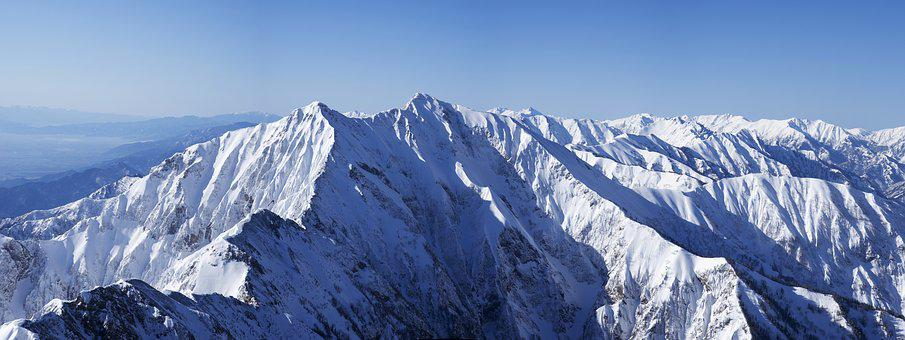 Winter Mountain, Kashima Yarigatake, Northern Alps