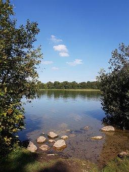 Lake, Landscape, Northern Germany, Ponitz Am See