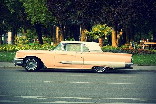 Oldtimer, Us Vehicle, Auto, Vehicle, Classic
