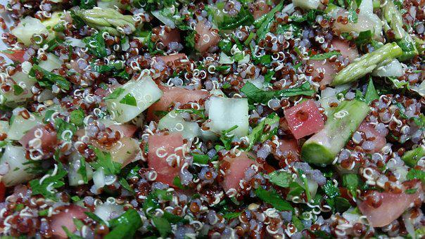 Tabbouleh, Quinoa, Lunch