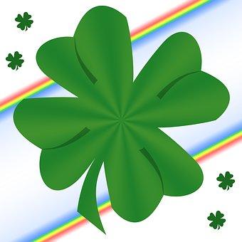 Shamrock, Clover, Saint Patrick, Rainbow, Luck, Irish