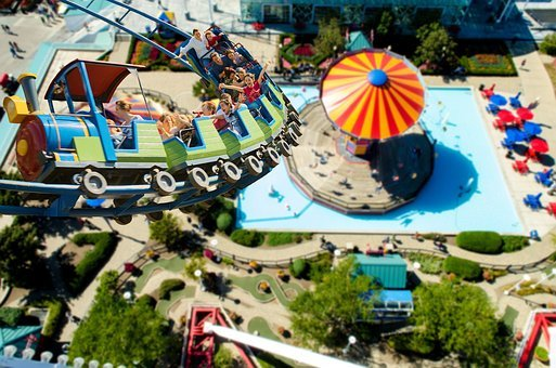Roller Coaster, Year Market, Fair, Ride, Folk Festival