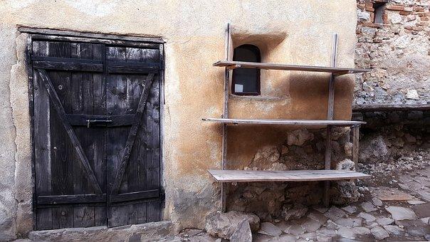 Medieval, Antique, Architecture, Window, Castle, Romans