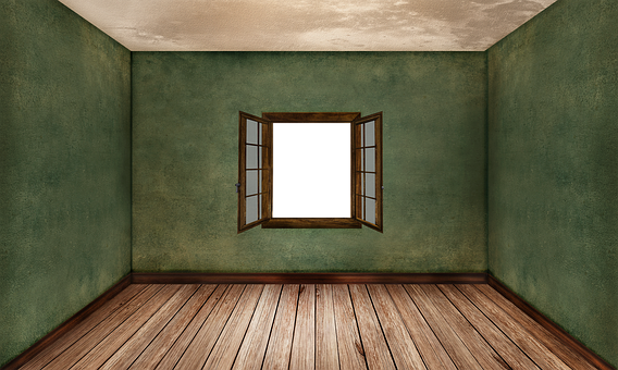Room, Empty, Interior, Ground, Wood Floor, Brown, Wall